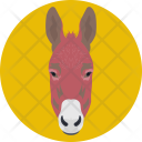 Donkey Face Mule Icon