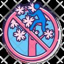 Mdo Not Donot Climb Sakura Trees Do Not Climb Trees Icon