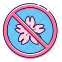 Donot Pick Flowers Icon