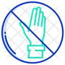 Donot Touch Do Not Touch No Tocuh Icon