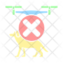 Safety Pet Drone Icon