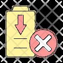Battery Energy Drain Icon
