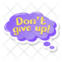 Dont Give Up Icon