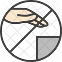 Dont Touch Hand Icon