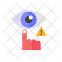 Don't Touch Eye Icon