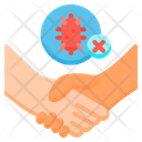 Dont Touch Do Not Touch Epidemic Prevention Icon