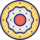 Donut Confectionery Bakery Food Icon