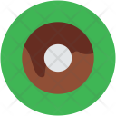 Donut Brownie Cookie Icon