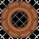 Donut Bakery Cake Icon