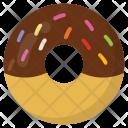 Chocolate Donut Doughnut Icon