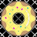 Donut Doughnut Snack Icon