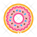 Donut Delicious Baked Icon