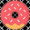 Donut Doughnut Sprinkles Icon
