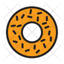 Cake Donut Drink Icon