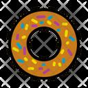 Donut Food Junk Icon
