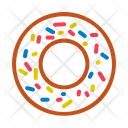 Donut Food Junk Icon