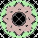 Donut Sweet Delicious Icon