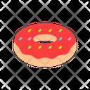 Donut Sweet Dessrt Icon