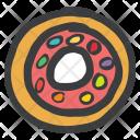 Donut Truffle Chocolate Icon