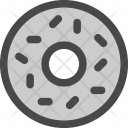 Donut Pastry Icing Icon