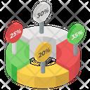 Donut Chart Icon