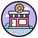 Donut Shop Cafeteria Cafe Icon