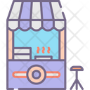 Donut Shop Donut Stall Donuts Icon