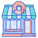 Donut Shop Donut Stall Sweet Icon