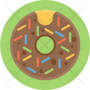 Donut With Sprinkles Icon