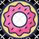 Donuts Sweet Dessert Icon