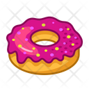 Donuts Party Fun Icon