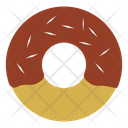 Donuts Sweet Bagel Icon