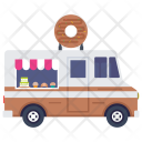 Donuts Food Truck Icon