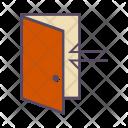Door Login Arrow Icon