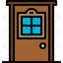 Door Furniture House Icon