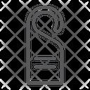 Door Hanger Hotel Icon
