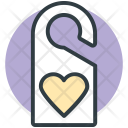 Door Tag Heart Icon