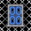 Door Wood Interior Icon