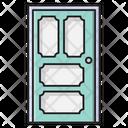 Door Interior Furniture Icon