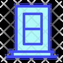 Door Design Furniture Icon