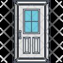 Door Main Door Wooden Interior Icon