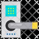 Door Lock Smart Hotel Service Icon