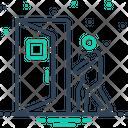 Come Door Enter Icon
