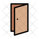 Door Open Enter Icon