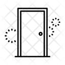 Door Access Gate Icon