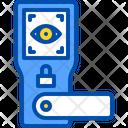 Door Eye Scan Icon
