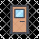 Door Entry Door Entrance Icon