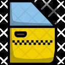 Door Taxi Auto Icon