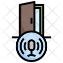 Door Voice Assistant Echo Dot Icon