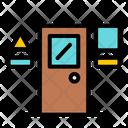 Door Education School Icon